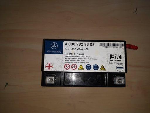 Baterie auxiliara pentru mercedes e class w212 cod:a0009829308