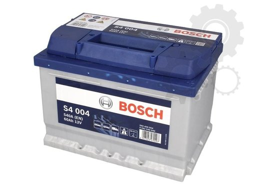 Baterie bosch argint s4 004 60ah 540a