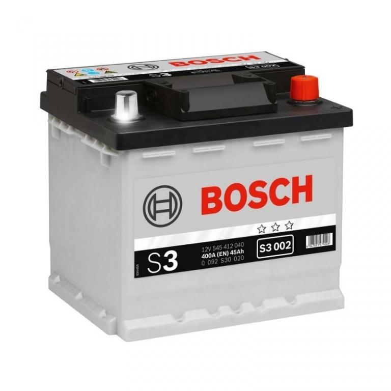 Baterie Bosch S3 45Ah 0092S30020
