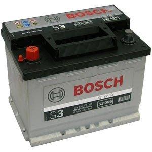 Baterie Bosch S3 56 Ah RE - borne inverse