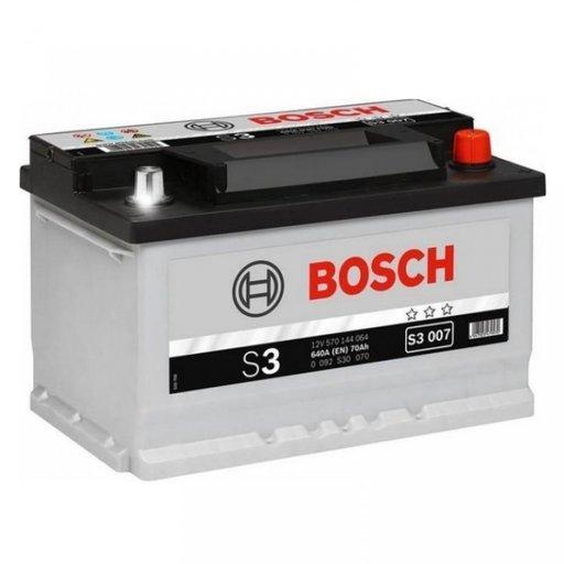 Baterie Bosch S3 70Ah 0092S30070