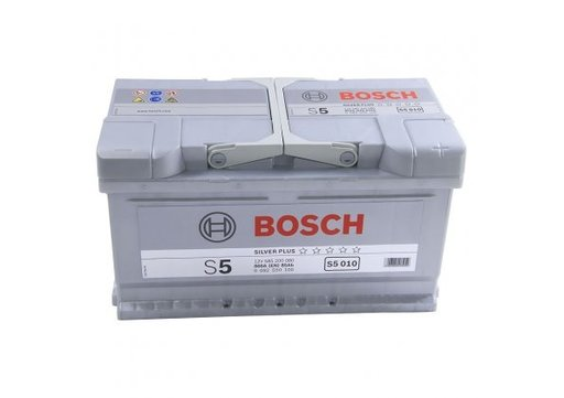 BATERIE BOSCH S5 010 12V 85AH 800A 315X175X175 +DR (0 092 S50 100)