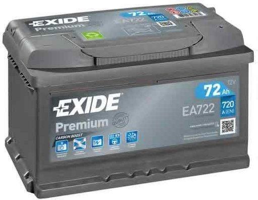Baterie de pornire AUDI 80 (8C, B4) Producator EXIDE EA722