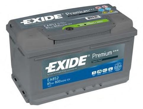 Baterie de pornire BMW 3 Compact (E36), BMW 3 limuzina (E36), OPEL OMEGA B combi (21_, 22_, 23_) - EXIDE EA852