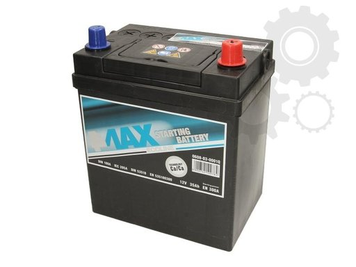 Baterie de pornire CHEVROLET MATIZ M200 M250 Producator 4MAX 0608-03-0001Q
