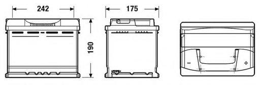 Baterie de pornire CHRYSLER PT CRUISER (PT_) (2000