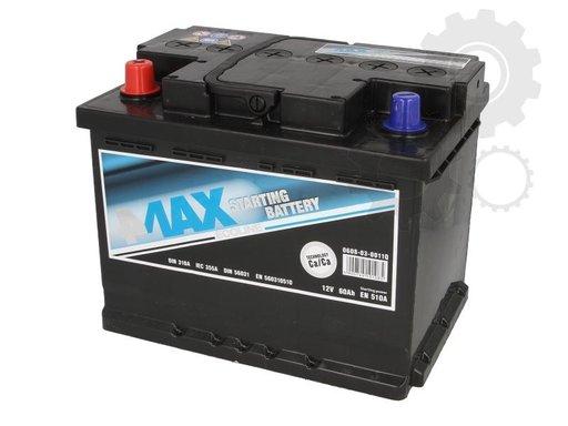 Baterie de pornire DAEWOO LACETTI hatchback KLAN Producator 4MAX 0608-03-0011Q
