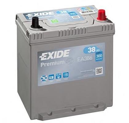 Baterie de pornire DAIHATSU MIRA Mk III (L201), SUZUKI ALTO Mk II (EC), SUZUKI ALTO  (SS80) - EXIDE EA386