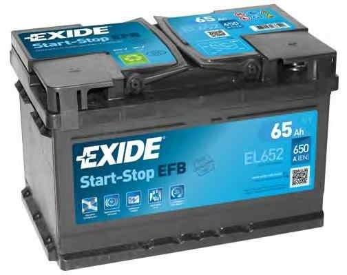 Baterie de pornire FORD FIESTA Van EXIDE EL652