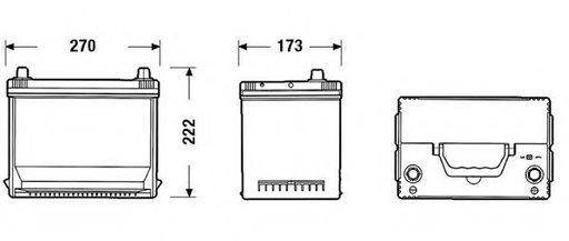 Baterie de pornire HONDA PRELUDE Mk IV (BB) (1991