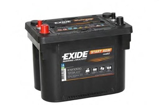 Baterie de pornire INTERNATIONAL HARV. C-Series, CHRYSLER GRAND VOYAGER IV (RG, RS), JEEP WAGONEER (XJ) - EXIDE EM1000