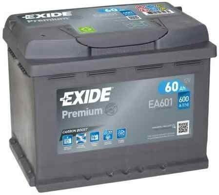 Baterie de pornire LADA SAMARA (2108, 2109, 2115) EXIDE EA601