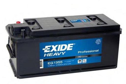 Baterie de pornire MAN NM, MERCEDES-BENZ O 402, MERCEDES-BENZ LP - EXIDE EG1355