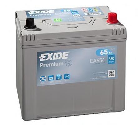 Baterie de pornire MAZDA EUNOS 500 (CA), MAZDA MILLENIA (TA), TOYOTA COROLLA hatchback (_E10_) - EXIDE EA654