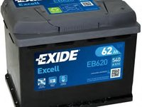 Baterie de pornire MERCEDES-BENZ COUPE (C123), MERCEDES-BENZ COUPE (C124), CITROËN RELAY bus (230P) - EXIDE EB620