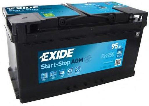 Baterie de pornire MERCEDES-BENZ G-CLASS (W463), AUDI A8 limuzina (4D2, 4D8), AUDI V8 limuzina (44_, 4C_) - EXIDE EK950