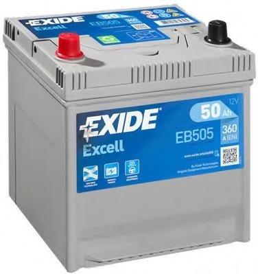 Baterie de pornire MITSUBISHI COLT  (A15_A), MITSUBISHI COLT Mk II (C1_A), MITSUBISHI COLT Mk III (C5_A) - EXIDE EB505