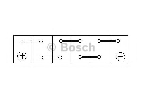 Baterie de pornire MITSUBISHI COLT Mk II (C1_A), MITSUBISHI COLT Mk III (C5_A), MITSUBISHI COLT Mk IV (CA_A) - BOSCH 0 092 S40 230