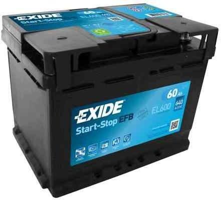 Baterie de pornire OPEL CORSA D EXIDE EL600
