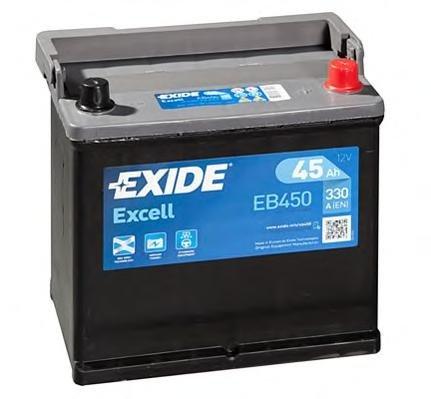 Baterie de pornire PEUGEOT 104, PEUGEOT 104 cupe, CITROËN 2 CV - EXIDE EB450