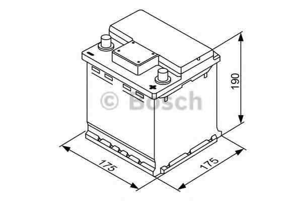 Baterie de pornire PEUGEOT 106 I (1A, 1C) BOSCH 0 092 S40 001