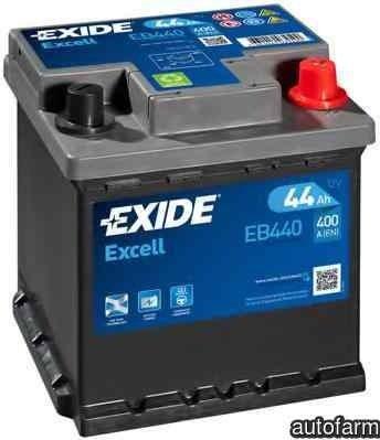 Baterie de pornire PEUGEOT 106 II 1 EXIDE EB440