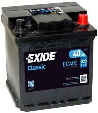 Baterie de pornire PEUGEOT 106 II 1 EXIDE EC400