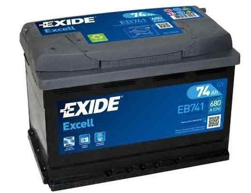 Baterie de pornire PEUGEOT 504 (A_, M_) EXIDE EB741