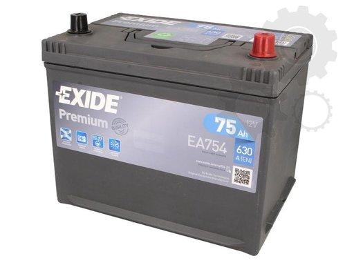 Baterie de pornire Producator EXIDE EA754
