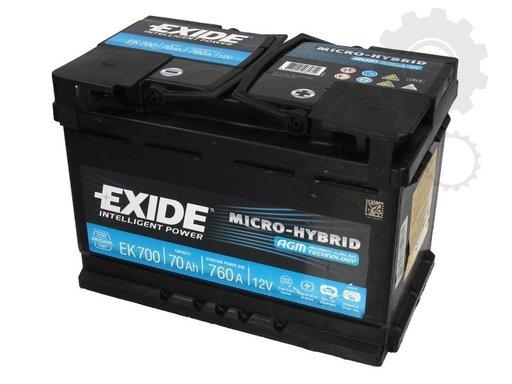 Baterie de pornire Producator EXIDE EK700