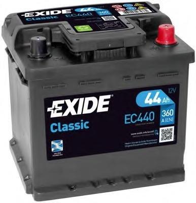 Baterie de pornire RENAULT EXTRA caroserie (F40_, G40_), RENAULT CLIO  (B/C57_, 5/357_), FIAT REGATA limuzina (138) - EXIDE EC440