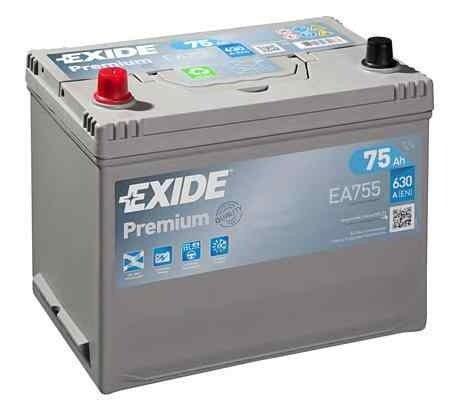 Baterie de pornire ROVER 100 / METRO (XP) Producator EXIDE EA755