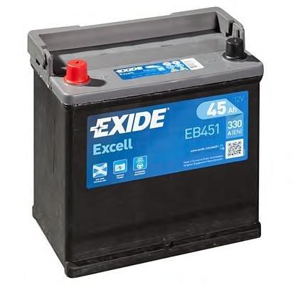 Baterie de pornire TALBOT RANCHO, TALBOT 1307-1510, PEUGEOT 204 limuzina - EXIDE EB451