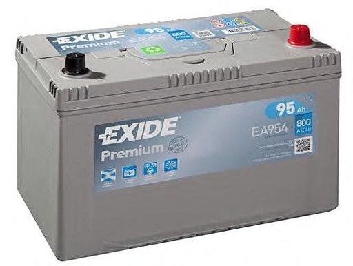 Baterie de pornire TOYOTA COROLLA hatchback (_E10_), TOYOTA COROLLA limuzina (_E8_), TOYOTA COROLLA limuzina (_E9_) - EXIDE EA954
