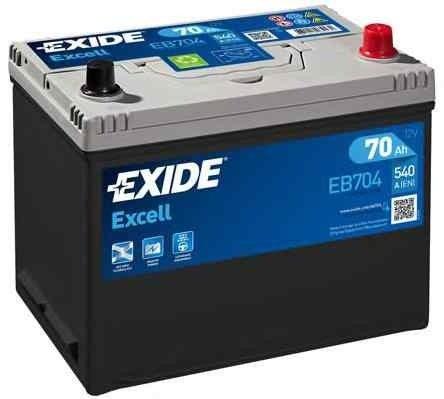 Baterie de pornire TOYOTA LAND CRUISER 80 (_J8_) Producator EXIDE EB704