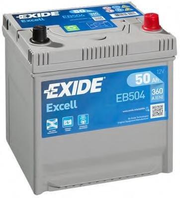Baterie de pornire TOYOTA RAV 4  (SXA1_), TOYOTA COROLLA hatchback (_E10_), TOYOTA COROLLA limuzina (_E8_) - EXIDE EB504