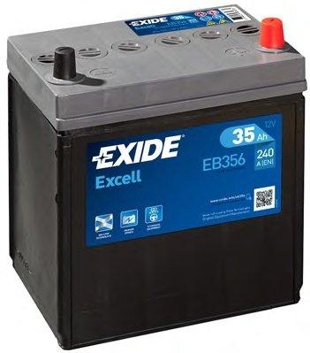BATERIE EXIDE ASIA EXCELL 12V 35AH 240A 187X127X220 +DR (EB356)