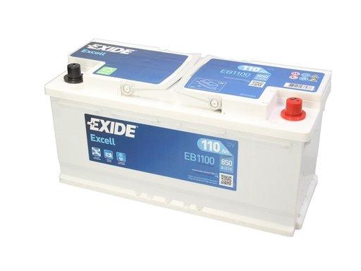 Baterie exide excell 12v 110ah 850a