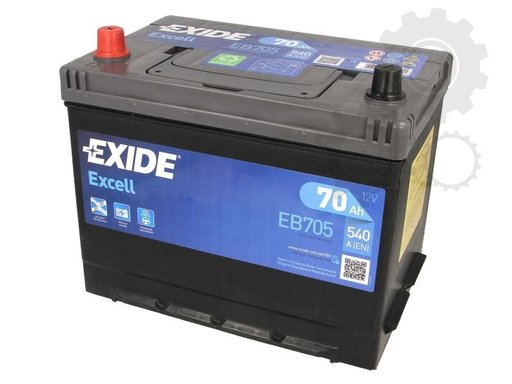 Baterie exide excell 70ah 540a