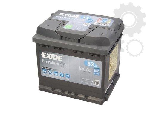 Baterie exide premium 53ah 540a