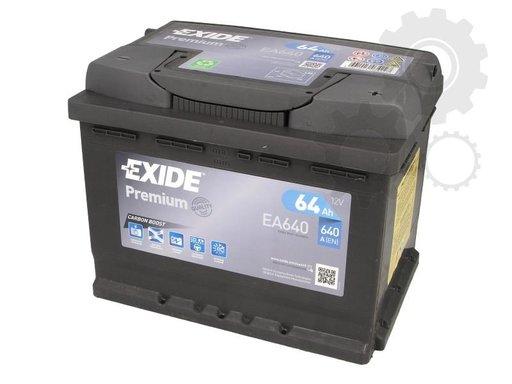 Baterie exide premium 60ah 640a
