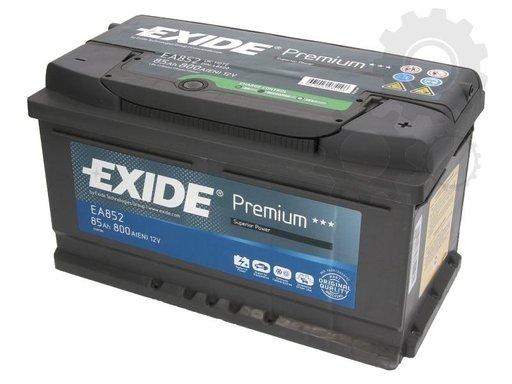 Baterie exide premium 85ah 800a 12v