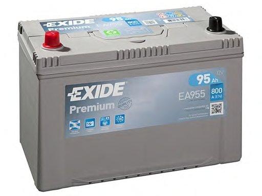 BATERIE EXIDE PREMIUM 95AH 800A 306X173X222 +STG (EA955)