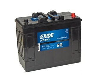 BATERIE EXIDE PROFESSIONAL 12V 125AH 760A 349X175X290 +DR (EG1250)