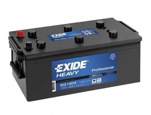 BATERIE EXIDE PROFESSIONAL 12V 140AH 800A 513X189X223 +STG (EG1403)