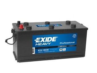 BATERIE EXIDE PROFESSIONAL 12V 180AH 1000A 510X218X225 +DR (EG1806)