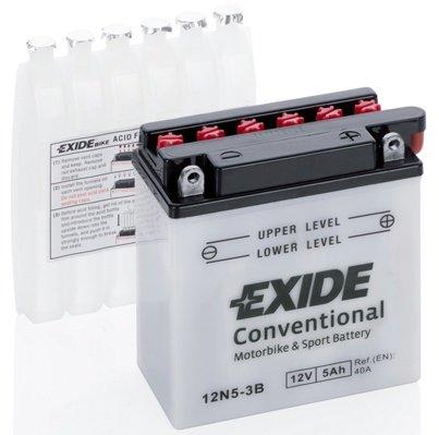 Baterie moto exide 5ah 12v 40a