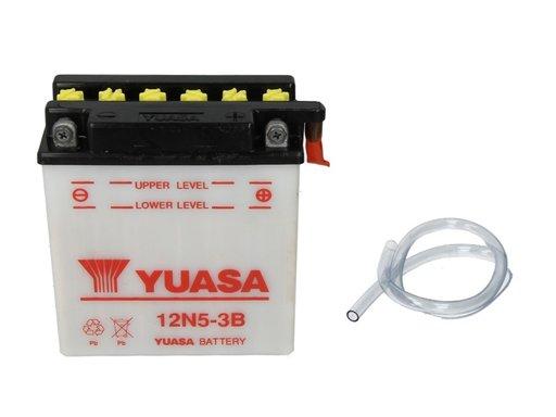 Baterie moto yuasa 12v 5ah 39a