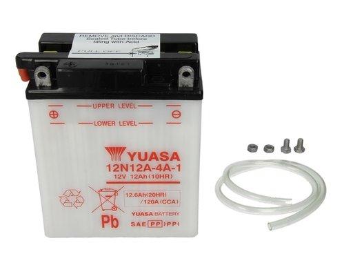 Baterie motor yuasa 12v 12ah 113a