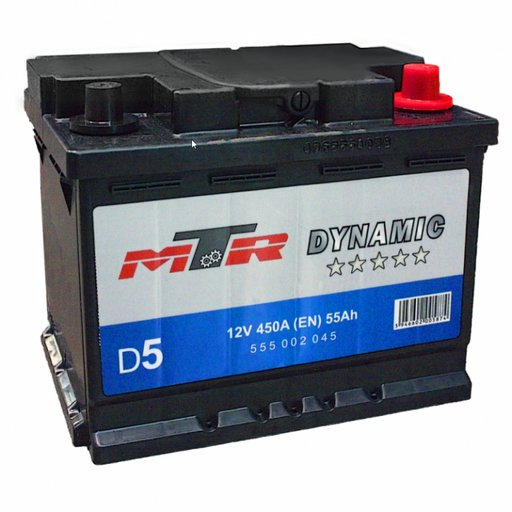 Baterie MTR Dynamic 55Ah 555002045
